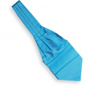 Turquoise Blue Ascot Tie - Ascot II