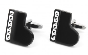 Piano cufflinks - Piano Bar