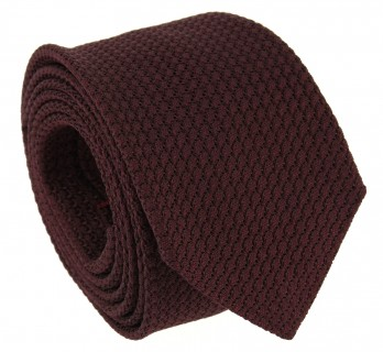 Garnet Red Grenadine Silk The Nines Tie - Grenadines III