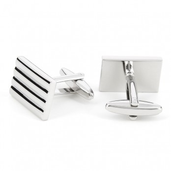 Rectangular cufflinks - Manhattan VIII