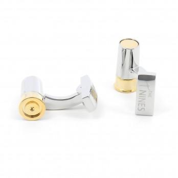 Brass cufflinks - Sologne