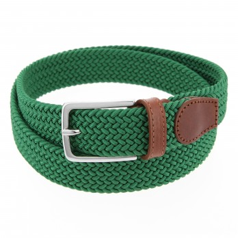 Elastic braided belt in green II - Rob III