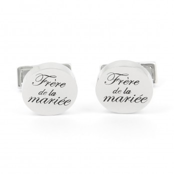 Wedding cufflinks - Bride's Brother