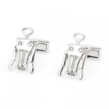 Bottle opener cufflinks - Le Petit Zinc
