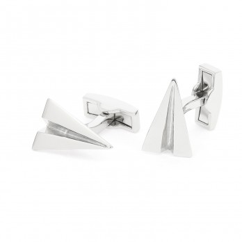 Paper airplane cufflinks - School Yard