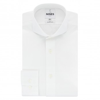 Chemise blanche col cutaway