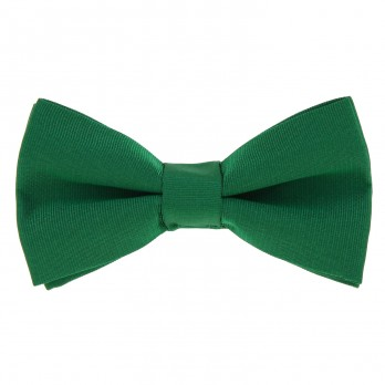 Green Bow Tie in Silk - Côme