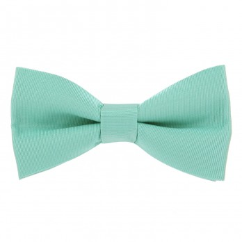 Water Green Bow Tie in Silk - Côme