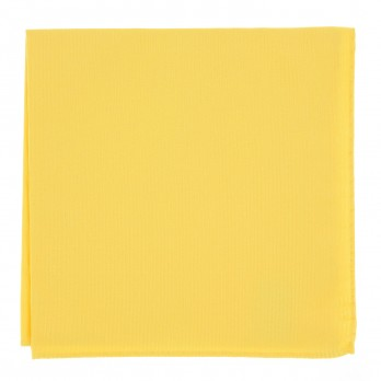 Yellow Pocket Square in Silk - Côme