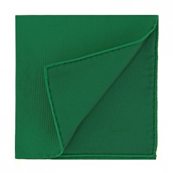 Green Pocket Square in Silk - Come