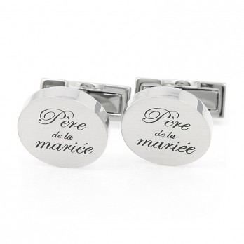Wedding cufflinks - Bride's Father
