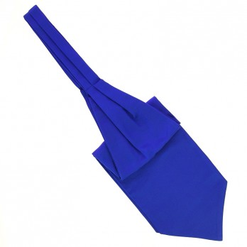 Electric Blue Ascot Tie - Côme