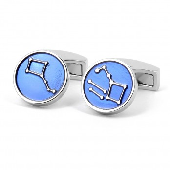 Round Constellation Cufflinks - Alma