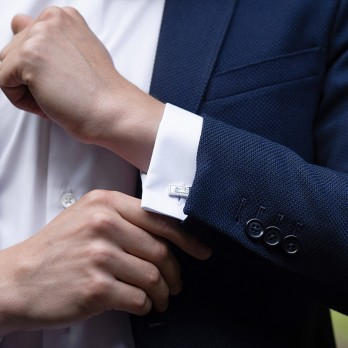 Wedding cufflinks - Just Married