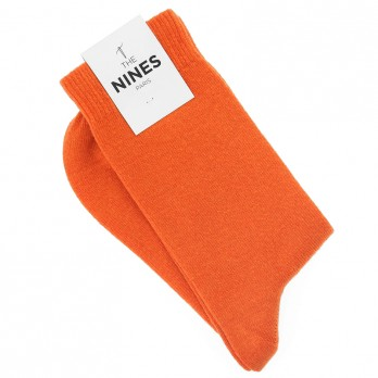 Orange Cashmere Socks