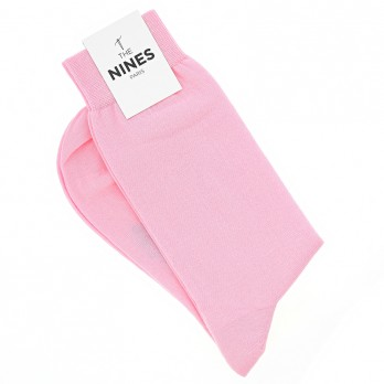 Cotton socks pink