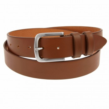 Leather belt Brown - Steve