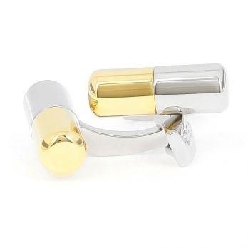 Capsule cufflinks - Vitamin Pill